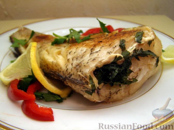 рецепты из белой рыбы в духовке