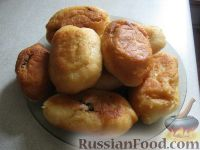 Фото к рецепту: Пирожки жареные с мясом