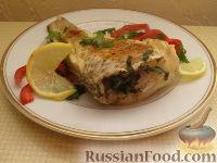 Фото приготовления рецепта: Рыба, запеченная в фольге - шаг №8