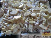 Фото приготовления рецепта: Свинина, запеченная с картофелем - шаг №6