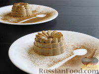Фото к рецепту: Кофейная панна-котта из сметаны