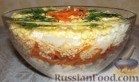 Фото к рецепту: Салат «Бунито» с курицей и морковью по-корейски