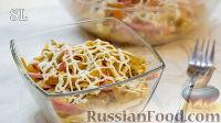 Фото к рецепту: Блинный салат