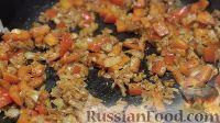 Фото приготовления рецепта: Энчилада с ветчиной, сыром и сладким перцем - шаг №10