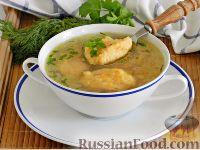 Фото к рецепту: Суп с морковными клецками