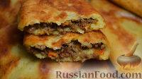 Фото к рецепту: Картофельные пирожки с фаршем