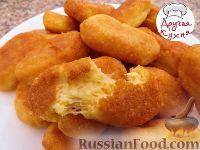 Фото приготовления рецепта: Домашние сырные палочки - шаг №4