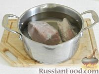 Фото приготовления рецепта: Чешский чесночный суп - шаг №2