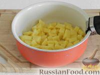 Фото приготовления рецепта: Чешский чесночный суп - шаг №9