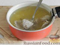 Фото приготовления рецепта: Чешский чесночный суп - шаг №10
