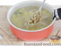 Фото приготовления рецепта: Чешский чесночный суп - шаг №11