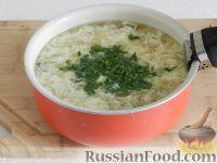 Фото приготовления рецепта: Чешский чесночный суп - шаг №12