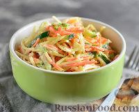 Салат с редькой дайкон, морковью и огурцом новые фото