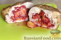 Фото к рецепту: Свинина, запечённая со сливами