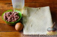 Фото приготовления рецепта: Треугольники из лаваша с фаршем - шаг №1