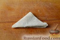 Фото приготовления рецепта: Треугольники из лаваша с фаршем - шаг №6