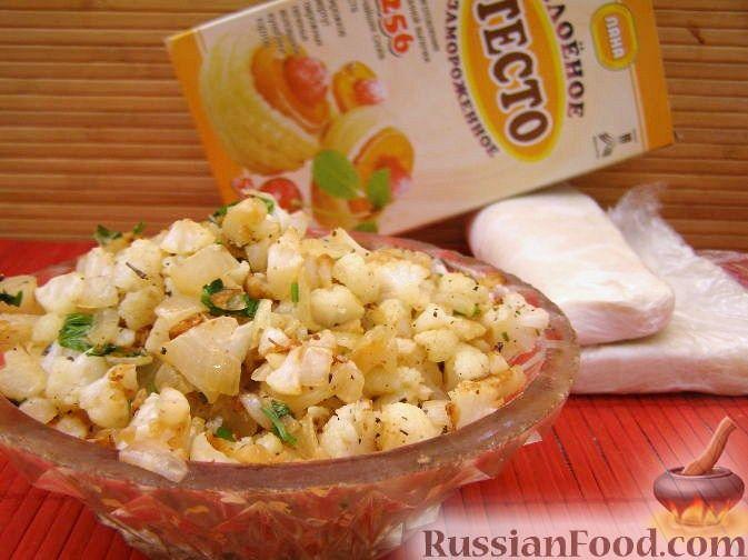 Рецепт Начинка из цветной капусты
