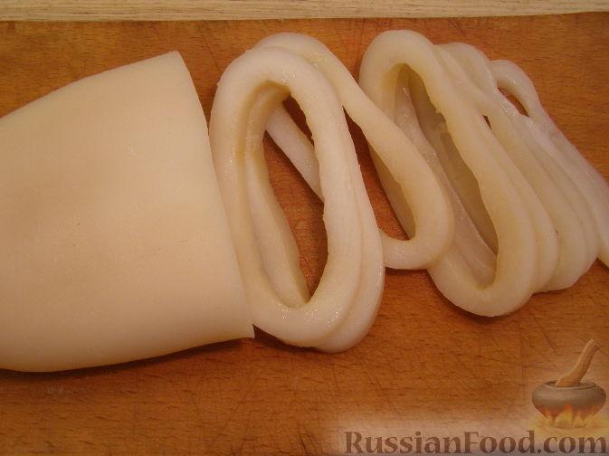 Рецепты приготовления из кальмаров