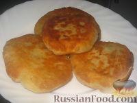 Фото к рецепту: Пирожки с мясом жареные