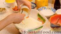 Фото приготовления рецепта: Басбуса (нежная восточная сладость) - шаг №7