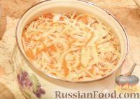 Фото к рецепту: Хрустящая, сочная квашеная капуста