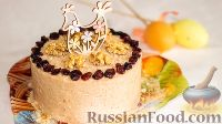 Фото к рецепту: Карамельная творожная пасха