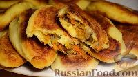 Фото к рецепту: Картофельные зразы с капустой и грибами