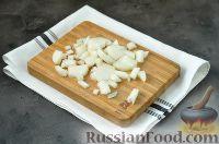 Фото приготовления рецепта: Суп с грибами и голубым сыром - шаг №3