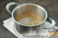 Фото приготовления рецепта: Суп с грибами и голубым сыром - шаг №7