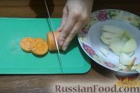 Фото приготовления рецепта: Рыбные блины с красной икрой - шаг №2