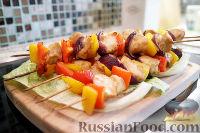 Фото к рецепту: Куриные шашлычки