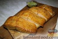 Фото к рецепту: Лосось, запечённый на кедровой дощечке на гриле