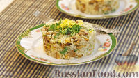 Фото к рецепту: Цитрусовый рис с грибами