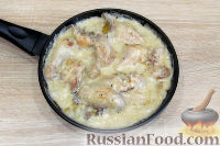 Фото приготовления рецепта: Гедлибже (курица, тушенная в сметане) - шаг №8
