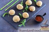 Котлеты из куриного фарша с твердым сыром в духовке - рецепт пошаговый с фото