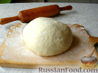 Фото к рецепту: Тесто для пиццы по рецепту Джейми Оливера