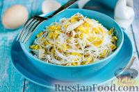 Фото к рецепту: Мясной салат с фунчозой