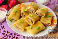 Фото к рецепту: Фаршированные макароны