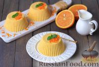 Фото к рецепту: Апельсиновый пудинг