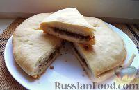 Фото к рецепту: Фыдджын (пирог с мясом по-осетински)