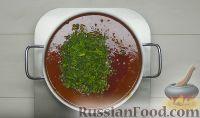 Фото приготовления рецепта: Красный борщ - шаг №13