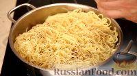 Фото приготовления рецепта: Спаггети с курицей и помидорами черри - шаг №14