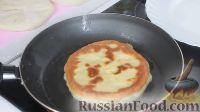 Фото приготовления рецепта: Быстрые лепешки на кефире, с начинкой - шаг №13