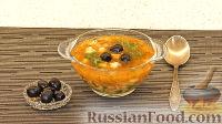Фото к рецепту: Томатный суп с лососем
