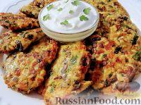 Фото к рецепту: Куриные котлеты с грибами и зеленью петрушки