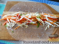 Спринг-роллы с морковью - рецепт пошаговый с фото