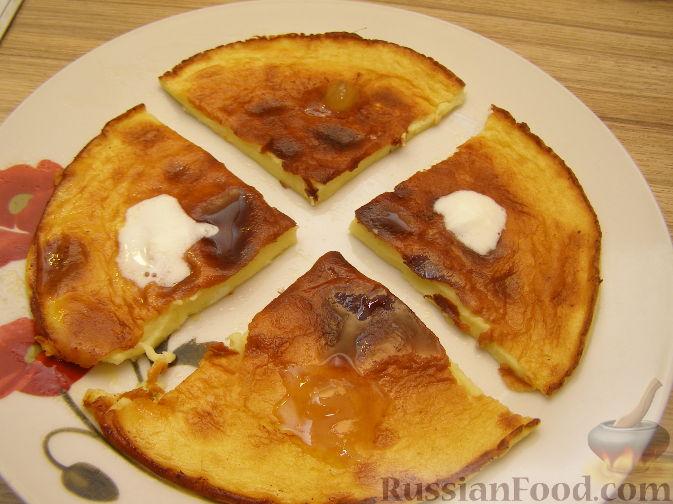 Рецепт Сладкий омлет для детского завтрака