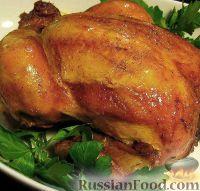 Печеная курица в духовке