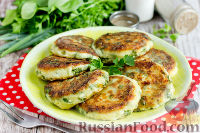 Фото к рецепту: Сырники с зеленью