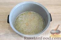 Фото приготовления рецепта: Куриный суп с красной чечевицей (в мультиварке) - шаг №7